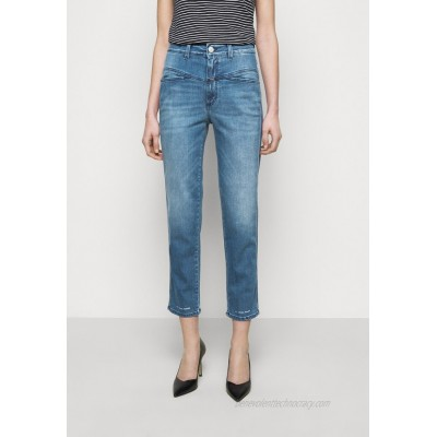 CLOSED PEDAL PUSHER Straight leg jeans mid blue/blue