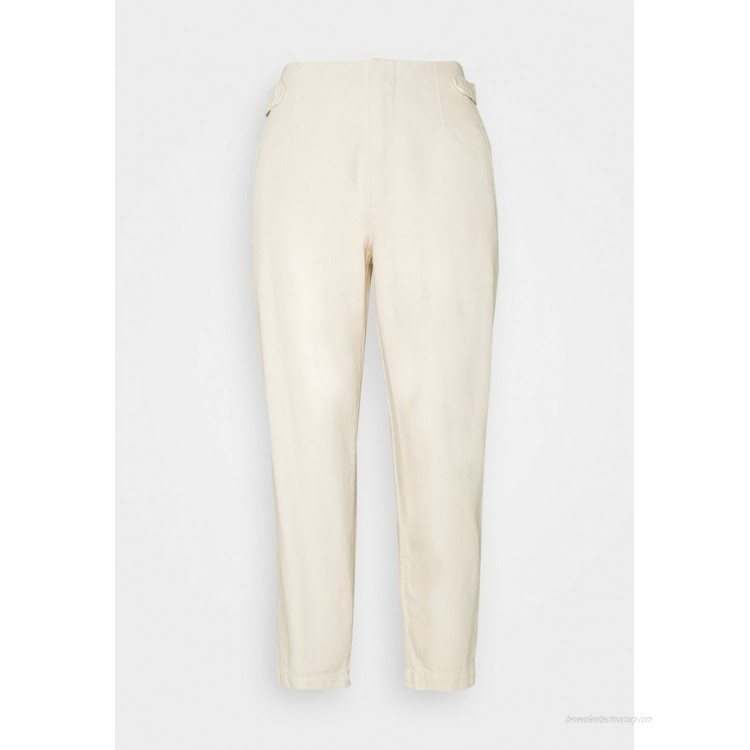 Marc O'Polo DENIM PLEATED TROUSERS Relaxed fit jeans winter dune/offwhite