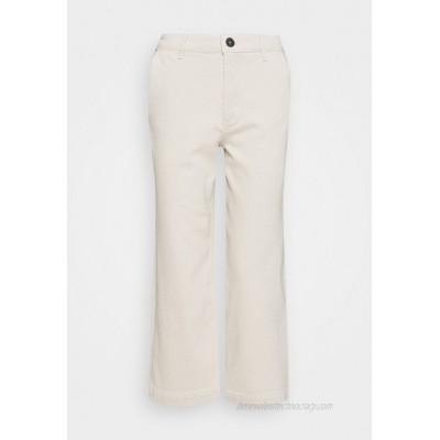 Marc O'Polo TROUSER HIGH WAIST WIDE LEG Relaxed fit jeans offwhite/offwhite