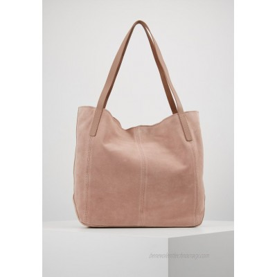 Anna Field LEATHER Tote bag rose/light pink