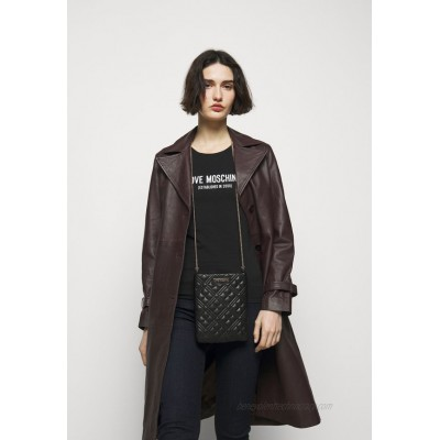 Love Moschino QUILTED SOFT Across body bag nero/black