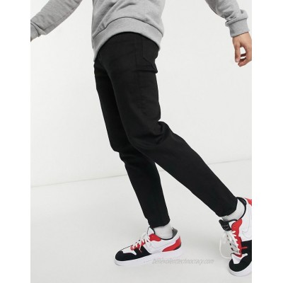 New Look tapered jeans in black
