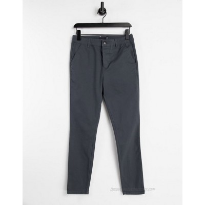 DESIGN power stretch chinos in charcoal