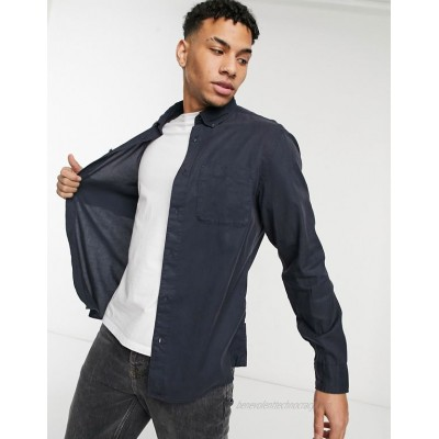 Selected Homme shirt in navy