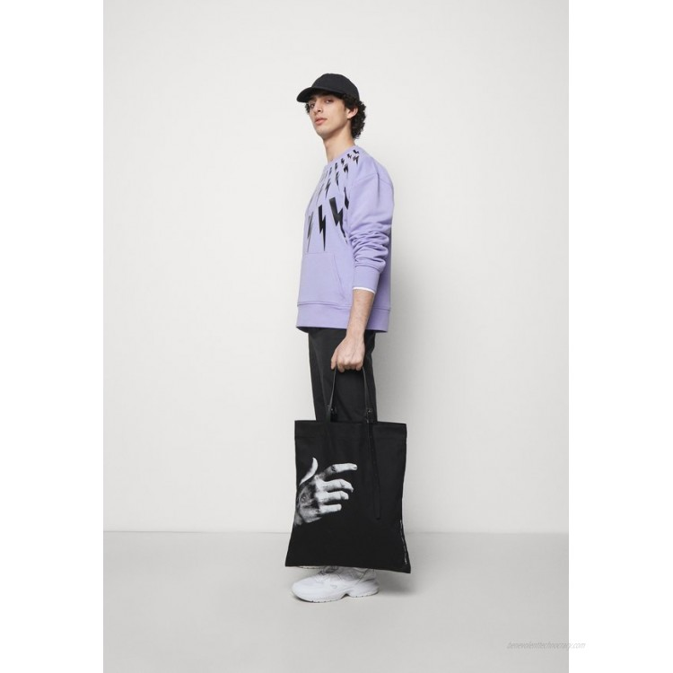 Neil Barrett THE OTHER HAND TOTE BAG UNISEX - Tote bag - black